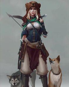 Female: Rogue/ Pet Master