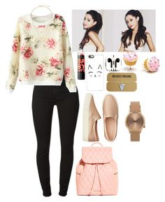 """Sin título #297"" by fabiana-garban on Polyvore featuring moda, 7 For All Mankind, Maybelline, Casetify, PhunkeeTree, American Eagle Outfitters, Kate Spade, Vera Bradley y Topshop"