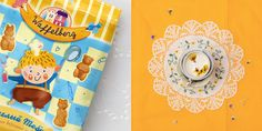 Waffelberg, Waffles — The Dieline - Package Design Resource