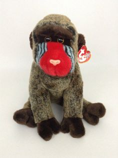 Ty Kind-Hearted Ty Beanie Babies Cheeks Baboon Comfortable And Easy To Wear