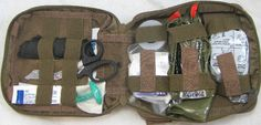G.L.S.C. Tactical IFAK (Individual First Aid Kit) - Level I    Color: