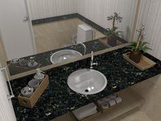 Wc e Circulação - Condomínio Ed. Jardins do Algarve