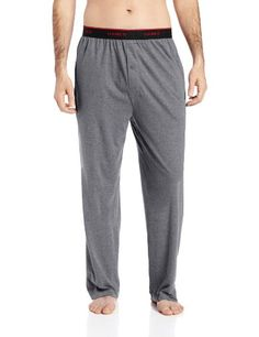 BUY NOW Hanes Men s Knit Pant with Elastic Waistband, Grey Heather, Medium Knit pant with set-on elastic More Details Special Price :