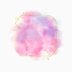Gold Wallpaper Hd, Blank Wallpaper, Colorful Wallpaper, Logo Floral, Watercolor Branding, Logo Samples, Frame Template, Templates, Pastel Watercolor