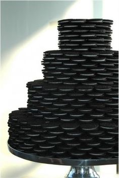 #grooms cake Now THAT is a layer cake... An oreo cake!