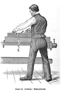 Woodworking attention to posture and fitness