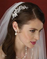 marionat bridal rhinestone comb crystal collection