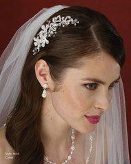 marionat bridal rhinestone comb crystal collection
