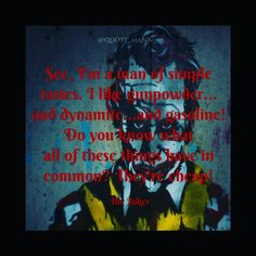 #joker #heathledger #gunpowder #dynamite #gasoline #cheap #quoteoftheday #quotes #quote #quotesdaily #reminder #instaquote #positive #staystrong #inspirationalquotes #getinspired #truth #thuglife #reality #motivationalquotes #getmotivated #goodcontent #ultimatequotes #extremequotes #goodquotes #lifequote #feelgood