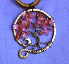 Cherry Tree Pendant by Shendorion.deviantart.com on @deviantART