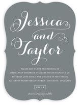 Just Lovely Wedding Invitations from Minted.com