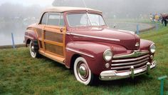 The 1947 #Ford Sportsman.
