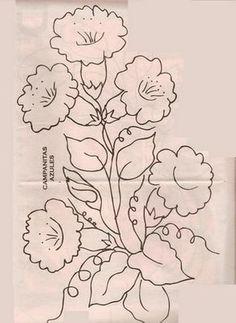Pintura en Tela Almohadones con flores  Todo pintura en tela