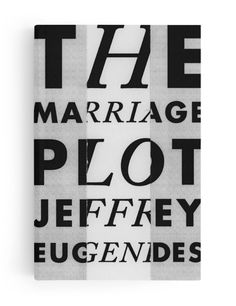 The Marriage Plot - From Cover to Cover