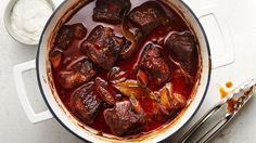Calling all short-rib lovers: This recipe changes everything. A full-bodied wine and Progresso™ beef flavored broth gives the ribs their irresistible flavor, while the horseradish sauce takes it to a whole new level.