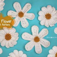 Daisy Flower Crochet Pattern