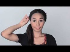 No more basic ponytails! Eva's got you covered with three simple workout hairstyles to keep you looking your best during your next sweat sesh. For more beaut. Workout Hairstyles, Easy Hairstyles, My Life As Eva, Girl Guides, Beauty Hacks, Beauty Tips, Makeup Videos, Easy Workouts, Hair Looks