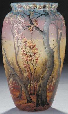 Sacred Geometry Art, Decorative Vases, Metal Vase, Art Nouveau Design, Glass Ceramic, Vases Decor, Art Forms, Glass Art, Mosaic