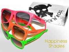 Happiness Shades, occhiali fluo per le vacanze sulla neve #eyewear #sunglasses #occhiali #fluo #fashion