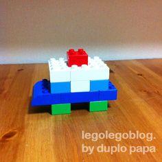 レゴデュプロ作品パトカー画像横から_5395