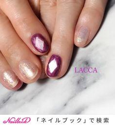 オールシーズン/バレンタイン/ブライダル/デート/ビジュー - LACCAのネイルデザイン[No.3750068]|ネイルブック Japanese Nail Art, Jam And Jelly, Design