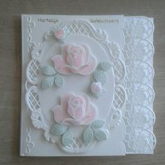 Pretty Cards, Cute Cards, Marianne Design Cards, Spellbinders Cards, Scrapbook Cards, Scrapbooking, Making Greeting Cards, Embossed Cards, Beautiful Handmade Cards