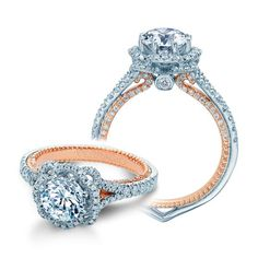 Verragio Couture-0444-2WR 18 Karat Engagement Ring About $5,300