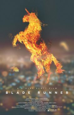 """Blade Runner - Ridley Scott 1982 - DVD00020 -- """"Loosely based on the novel 'Do Androids Dream of Electric Sheep?' by Philip K Dick. Deckard, a blade runner, has to track down and terminate 4 replicants who hijacked a ship in space and have returned to Earth seeking their maker."""""""