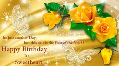 Happy Birthday Wishes for Husband Happy Birthday Wishes For Her, Birthday Wish For Husband, Very Happy Birthday, Sweet 16 Birthday, Happy Birthday Images, Happy Birthday Greetings, Birthday Greeting Cards, Birthday Gifs, Card Birthday