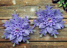 Wenn Ihre kleine Erbse zu spielen Kleid liebt, wird sie lieben, tragen diese bunte Blumen Haargummis. Die leuchtenden Farben und original Kanzashi-Style-Designs machen jedes kleine Mädchen, die wie eine reale Prinzessin fühlen! Gemacht für den Alltag und besondere Anlässe,