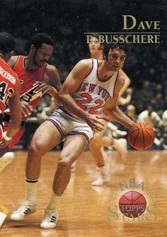 RARE 96/97 TOPPS NBA STARS DAVE DeBUSSCHERE NEW YORK KNICKS MINT