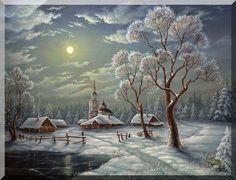 Obrázky - zimní krajiny+ gify « Rubrika | OBRÁZKY PRO VÁS