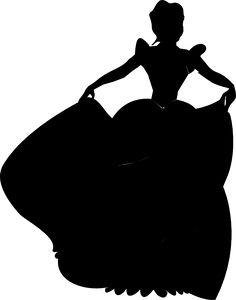 Disney+Princess+Silhouette+Printables | Princess Silhouette clip art - vector clip art online, royalty free ...