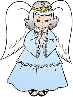 Christmas Angel, Christmas, Angel, Blue