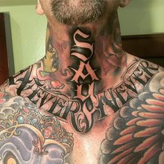 252 Best Neck Tattoos images in 2019 | Ink, Tattoo neck, Body tattoos