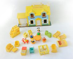 Your place to buy and sell all things handmade Childhood Toys, Childhood Memories, Fisher Price, Little People, Cool Toys, Mary, Lost, Vintage, Short People