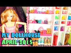 By Request: A Quick and Small look at My Dollhouse April 2015 - YouTube