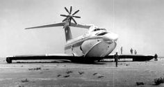 The soviet Orlyonok ekranoplan (ground effect vehicle). The Orlyonok was designed as a transport and also as a beach assault vehicle. Unlike other Soviet Ekranoplan designs, the Orlyonok was. Flying Ship, Flying Boat, Turbine Engine, Ground Effects, Russian Air Force, Passenger Aircraft, Air Space, Real Model, Jet Engine
