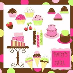 Sweet treats, Cake, Cupcakes,  Presents