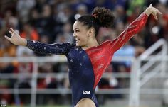 United States' Lauren Hernandez performs on the floor during the artistic gymnastics women's qualification at the 2016 Summer Olympics in Rio de Janeiro, Brazil, Sunday, Aug. Gymnastics Facts, Gymnastics Images, Gymnastics Posters, Artistic Gymnastics, Olympic Gymnastics, Olympic Sports, Gymnastics History, Elite Gymnastics, Amazing Gymnastics