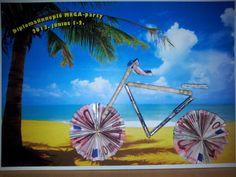 geld cadeau Ferris Wheel, Origami, Fair Grounds, Fun, Gifts, Wedding, Painting, Packaging, Christening