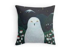 Подушка «Полярная сова» — LalalaShop @ Ламбада маркет