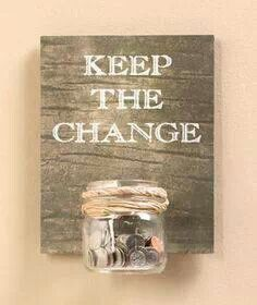 ideas to organize loose change - Google Search