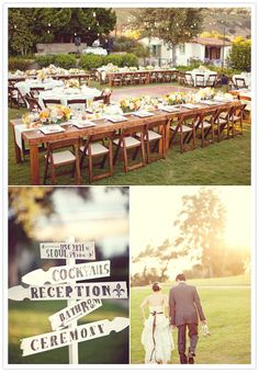 love the table, chairs, and arrangement!
