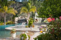 Beautiful backyard landscape // Special Olympics Southern California Dream House Raffle // 2014