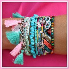 Op zoek naar bohemian style armbandjes ? Met onze armbandjes ben je helemaal klaar voor deze zomer! www.armbandonlinekopen.nl