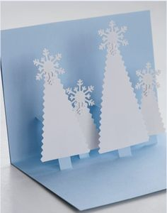 Pop-up cards for Christmas,really sweet and simple.  Kinda peaceful.