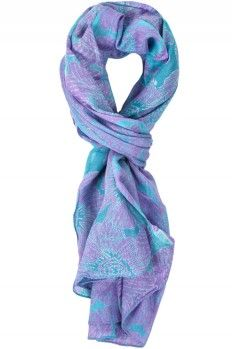 tons of inexpensive scarves. You don't have to spend a lot to add a lot to your outfit.