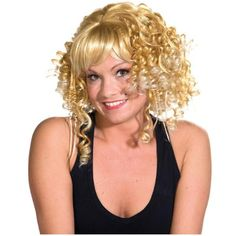 Idée perruque blonde avec boucles chic et sexy femme luxe http://www.baiskadreams.com/1502-perruque-blonde-courte-avec-boucles-deluxe-femme.html…