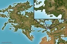 World Painter, Fantasy World Map, Alternate History, City Maps, Cartography, Symbols, Draw, Minecraft, Landscapes